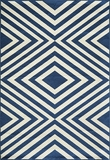 "BAJA0BAJ-8NVY-BAJA COLLECTION 1'-8"" X 3'-7"" by Momani Rugs"