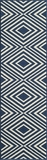 "BAJA0BAJ-8NVY-BAJA COLLECTION 2'-3"" x 7'-6"" Runner by Momani Rugs"