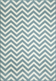 "BAJA0BAJ-9BLU-BAJA COLLECTION 1'-8"" X 3'-7"" by Momani Rugs"