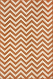 "BAJA0BAJ-9ORG-BAJA COLLECTION 3'-11"" x 5'-7"" by Momani Rugs"