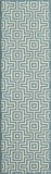 "BAJA0BAJ10BLU-BAJA COLLECTION 2'-3"" x 7'-6"" Runner by Momani Rugs"