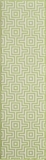 "BAJA0BAJ10GRN-BAJA COLLECTION 2'-3"" x 7'-6"" Runner by Momani Rugs"