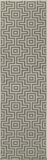 "BAJA0BAJ10GRY-BAJA COLLECTION 2'-3"" x 7'-6"" Runner by Momani Rugs"