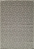 "BAJA0BAJ10GRY-BAJA COLLECTION 3'-11"" x 5'-7"" by Momani Rugs"