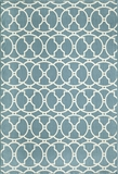 "BAJA0BAJ11BLU-BAJA COLLECTION 1'-8"" X 3'-7"" by Momani Rugs"