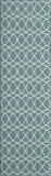 "BAJA0BAJ11BLU-BAJA COLLECTION 2'-3"" x 7'-6"" Runner by Momani Rugs"