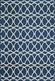 "BAJA0BAJ11NVY-BAJA COLLECTION 6'-7"" X 9'-6"" by Momani Rugs"