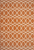 "BAJA0BAJ11ORG-BAJA COLLECTION 2'-3"" x 4'-6"" by Momani Rugs"