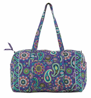 Balla Taylor Print Design Duffle Bag with Double Shoulder Strap Paisley Punch Brand Bella Taylor