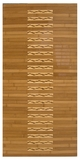 "Bamboo Kitchen & Bath Mat 20"" x 48"" Brand Anji Mountain by Anji Mountain"