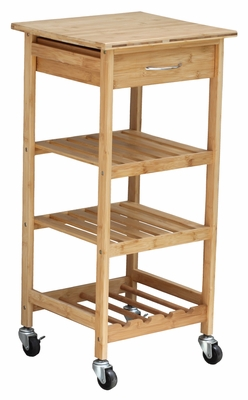 Bamboo Kitchen Trolley by Oceanstar