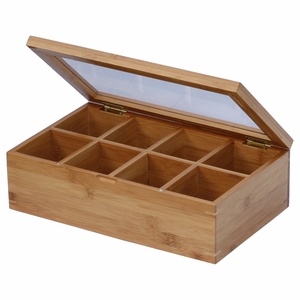 Bamboo Tea Box by Oceanstar