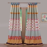 Barefoot Bungalow Thalia Window Panel Pair - 1606AWP by Greenland Home Fashions
