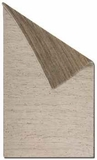 """Barhara 16"""" Hand Woven Rug in Natural Hemp and Cotton Chenille Brand Uttermost"""