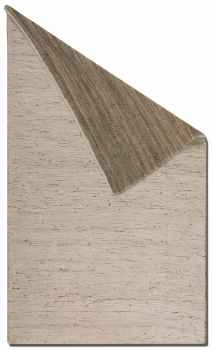 "Barhara 16"" Hand Woven Rug in Natural Hemp and Cotton Chenille Brand Uttermost"