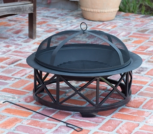 Barletta Fire Pit, Radiant And Strong Heating Utility by Well Travel Living
