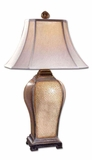 Baron Ivory Table Lamp with Champagne Detailing Brand Uttermost