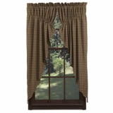 Barrington Prairie Curtain Lined Set of 2 63x36x18