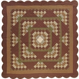 Barrington Queen Quilt Scalloped 94x94