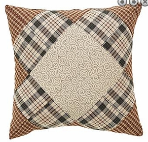 "Barrington Quilted Pillow 10x10"" VHC Brand - 12334 Brand VHC"