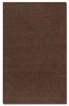 Barton Chocolate 8' Over Dyed Wool Rug in Shades of Chocolate Brand Uttermost