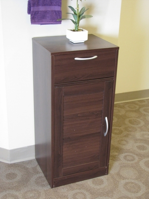 Bathroom Cabinet in Rich Espresso Color by 4D Concepts