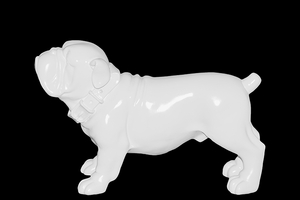 Beamish & Ceramic Dog White