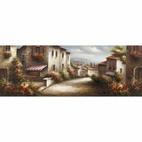 Beautiful European Village II Artwork by Yosemite Home Decor