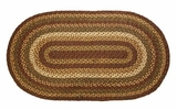 Beautiful in Browns Tea Cabin Jute Rug Oval by VHC Brands