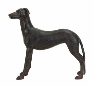 Beautiful Majestic Dog Decor With Polystone Cast Brand Woodland