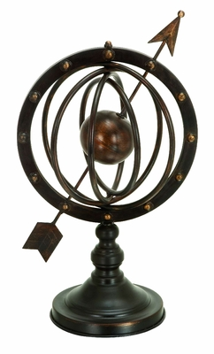 Beautiful Metal Armillary Stand Crafted with Unique Design Brand Woodland