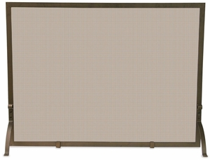 Beautiful Single Panel Bronze Screen