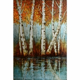 Beautiful Styled Aspen Grove I Classy Painting by Yosemite Home Decor