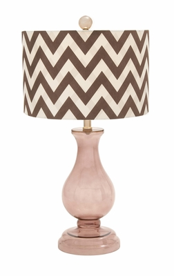 Beautiful Styled Durable Glass Table Lamp by Woodland Import