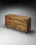 Beautiful Styled Maginot Industrial Chic Chest by Butler Specialty