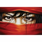 Beautiful Styled Mesmerizing Eyes Only Artwork by Yosemite Home Decor