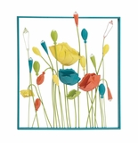 Beautiful Summertime Blossom Metal Wall Decor by Woodland Import