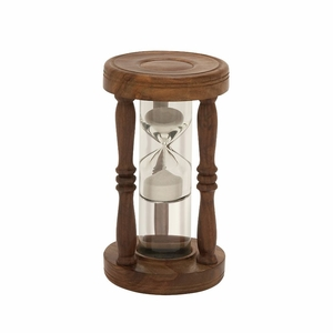 Beautiful Wood Metal Sand Timer