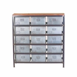 Beautifully Designed 15 Drawer Storage Cabinet by Yosemite Home Decor