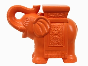 Beautifully Designed and Finely Crafted Ceramic Elephant Figurine by Urban Trends Collection