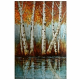 Beautifully Designed Aspen Grove Classy Painting by Yosemite Home Decor