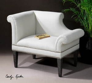 Beautifully Designed Fontaine Armchair For Ultimate Comfort Brand Uttermost