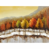 Beautifully painted Autumn in New York I Painting by Yosemite Home Decor