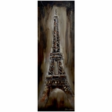 Beautifully Painted Iron Lady Classy Painting by Yosemite Home Decor