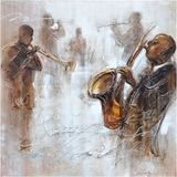 Beautifully painted Jazz Movement II Classy Painting by Yosemite Home Decor