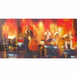 Beautifully Painted Musicality Awesome Painting by Yosemite Home Decor