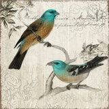 Beautifully Painted Nesting II Adorable Painting by Yosemite Home Decor