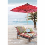Beautifully Painted Outlook On The Beach II Painting by Yosemite Home Decor