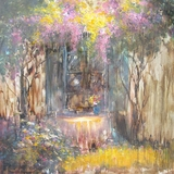 Beautifully painted Printemps I Classy Painting by Yosemite Home Decor