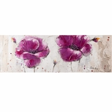 Beautifully Painted Purple Burst II Painting by Yosemite Home Decor